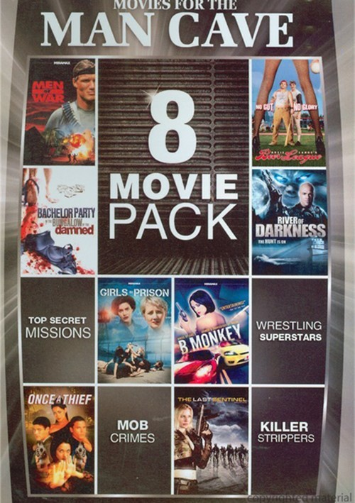8-Movie Pack: Movies For The Man Cave