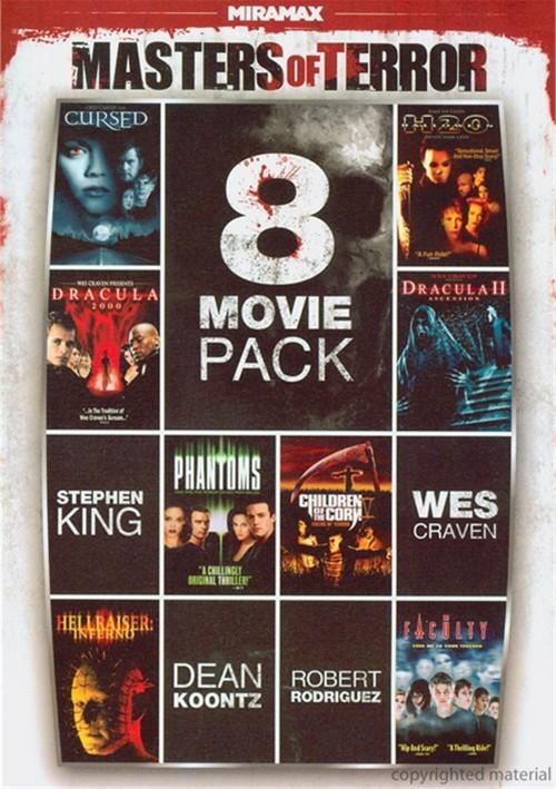 8-Film Masters Of Terror Pack Vol. 1