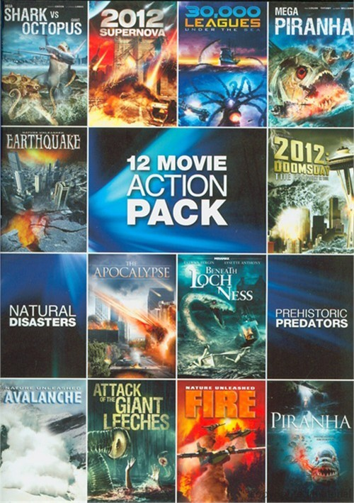 12-Movie Pack: Sci-Fi Action Pack