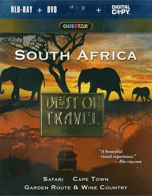 Best Of Travel: South Africa (Blu-ray + DVD + Digital Copy)