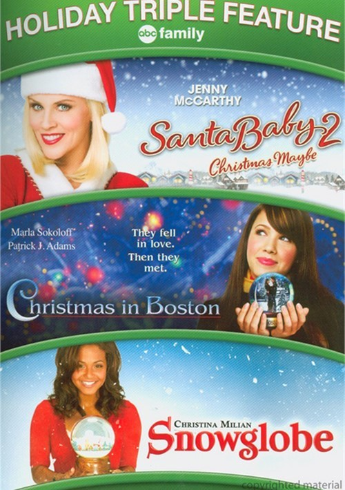 Santa Baby 2: Christmas Maybe / Christmas In Boston / Snowglobe (Triple Feature)