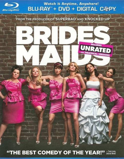 Bridesmaids (Blu-ray + DVD + Digital Copy)