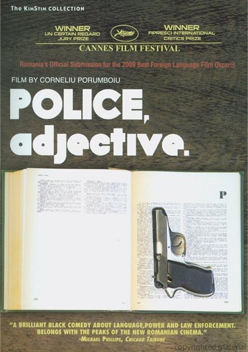 Police, Adjective