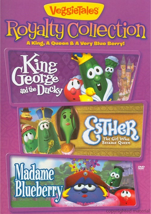 Veggie Tales: Royalty Collection - A King, A Queen, & A Very Blue Berry