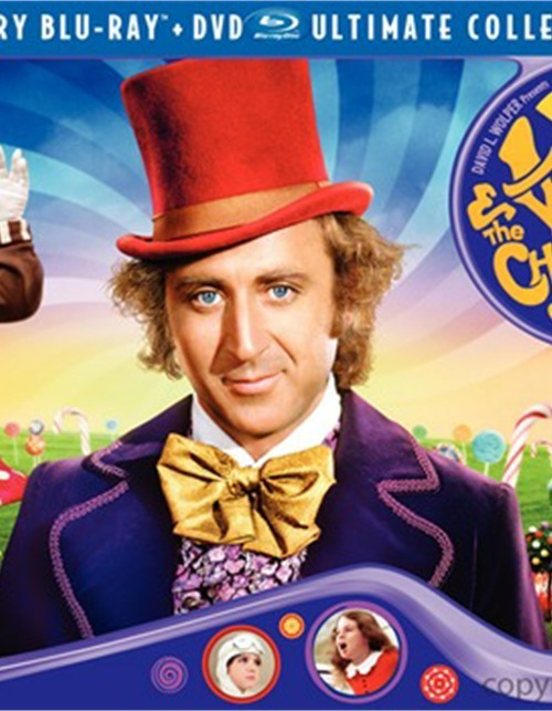 Willy Wonka & The Chocolate Factory: 40th Anniversary Ultimate Collectors Edition (Blu-ray + DVD Combo)