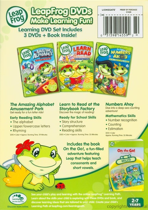 used leapfrog letterfactory dvd 3 flickr photo leap frog 3 dvd learning collection dvd dvd empire 456