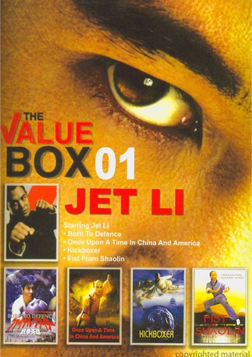 Jet Li: Value Box Volume 1