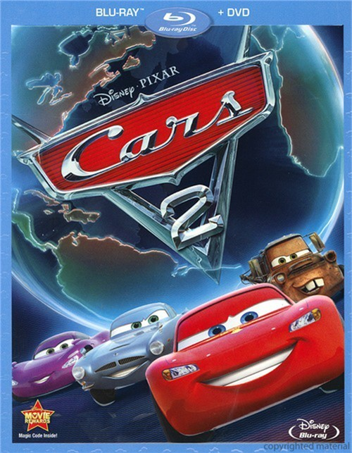Cars 2 (Blu-ray + DVD Combo)
