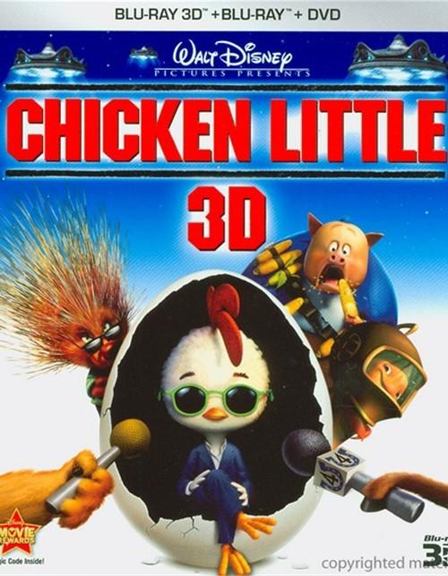 Chicken Little 3D (Blu-ray 3D + Blu-ray + DVD)