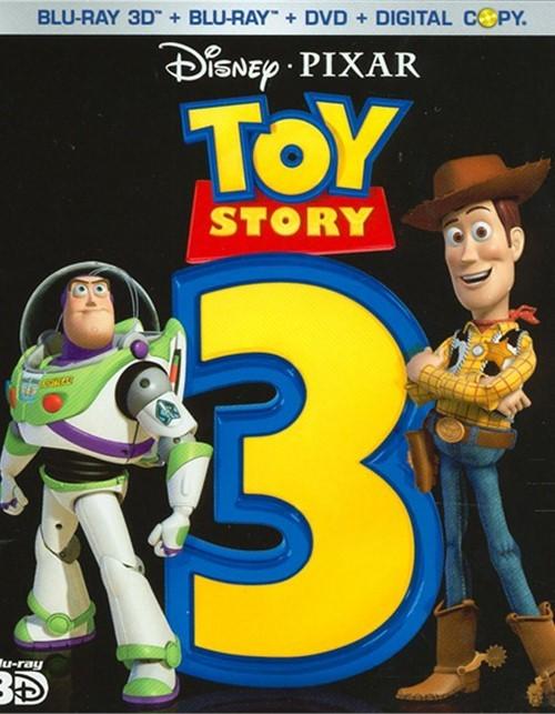 Toy Story 3 3D (Blu-ray 3D + Blu-ray + DVD+ Digital Copy)