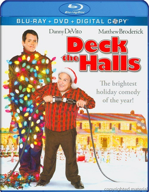 Deck The Halls (Blu-ray + DVD + Digital Copy)
