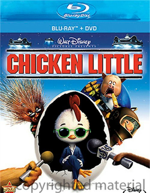 Chicken Little (Blu-ray + DVD Combo)