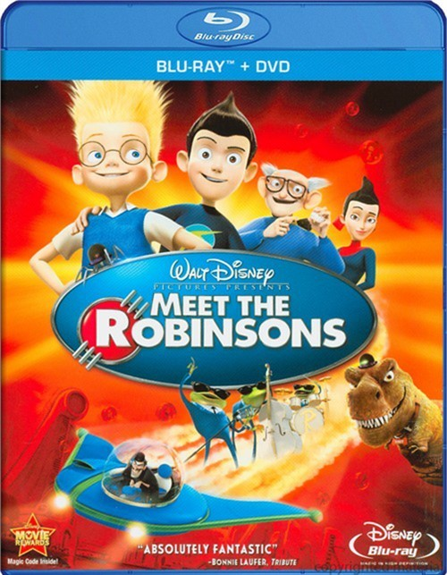 Meet The Robinsons (Blu-ray + DVD Combo)