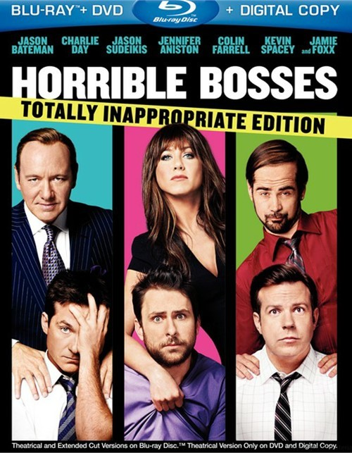 Horrible Bosses: Totally Inappropriate Edition (Blu-ray + DVD + Digital Copy)