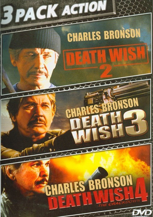 Death Wish 2 / Death Wish 3 / Death Wish 4: The Crackdown (Triple Feature)