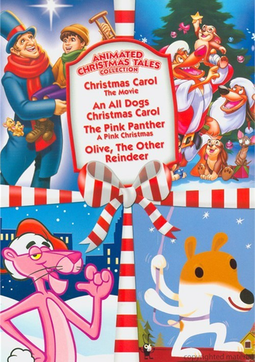 Christmas Carol: The Movie / All Dogs Christmas Carol / Pink Panther: A Pink Christmas / Olive, The Other Reindeer (Animated Christmas Tales)