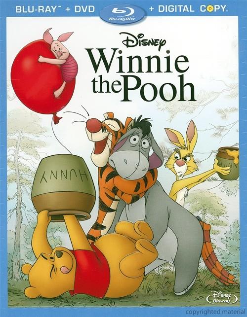 Winnie The Pooh (Blu-ray + DVD + Digital Copy)