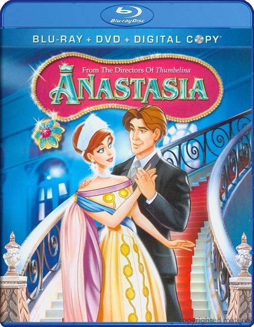 Anastasia (Blu-ray + DVD + Digital Copy)