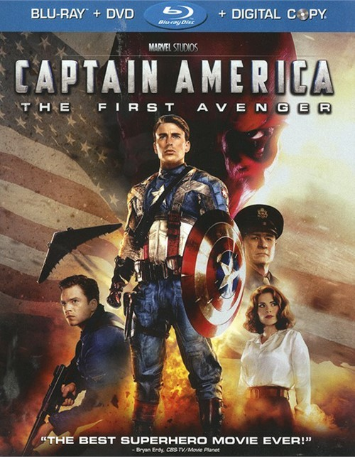 Captain America: The First Avenger (Blu-ray + DVD + Digital Copy)