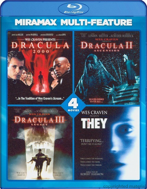 Wes Craven: 4 Film Series