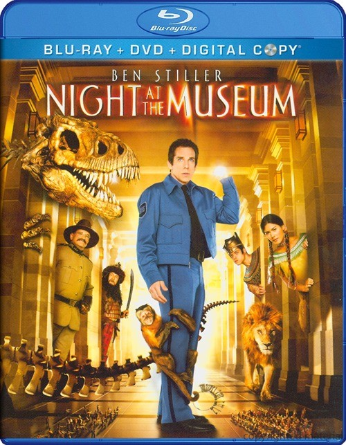 Night At The Museum (Blu-ray + DVD + Digital Copy)