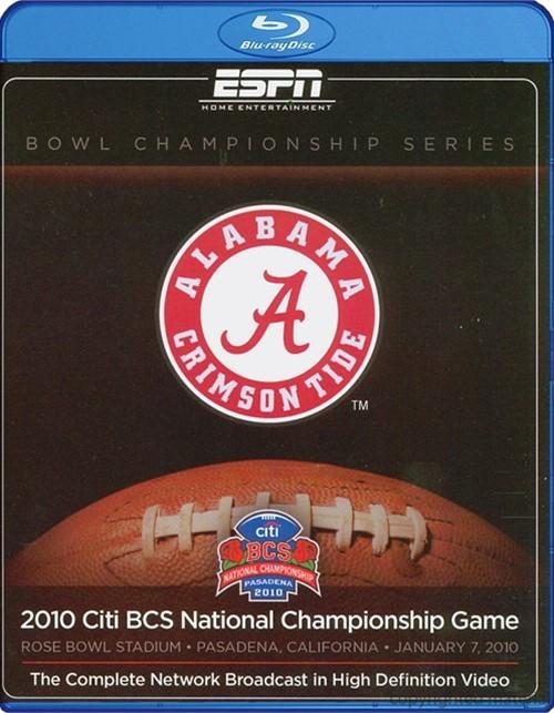 2010 ESPN Citi BCS National Championship