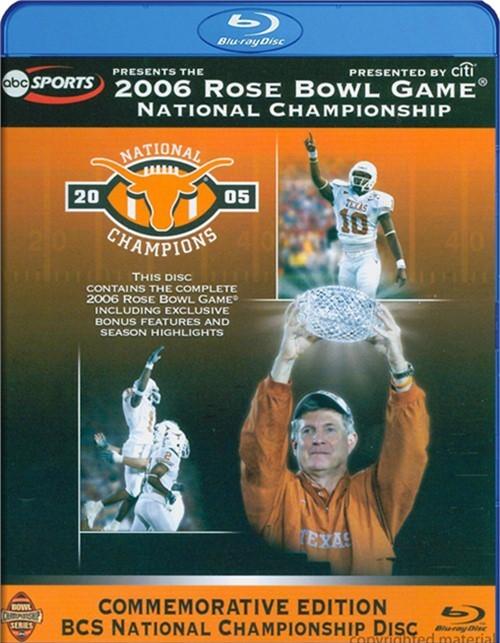 2006 Rose Bowl Game - National Championship