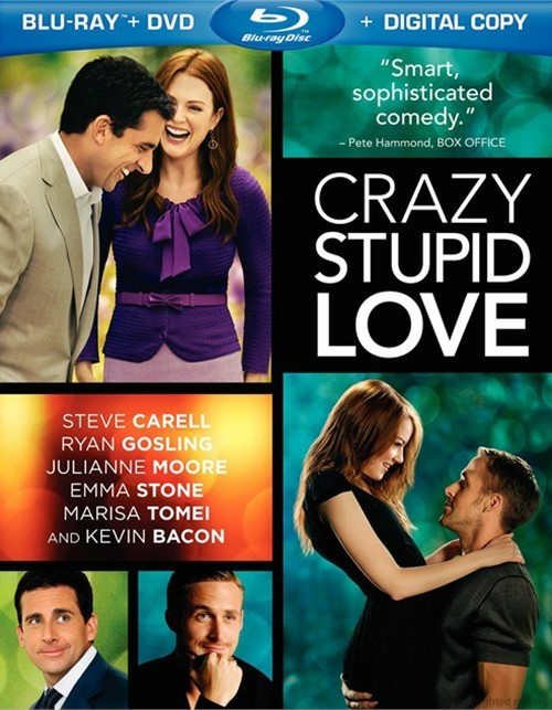 Crazy, Stupid, Love (Blu-ray + DVD + Digital Copy)