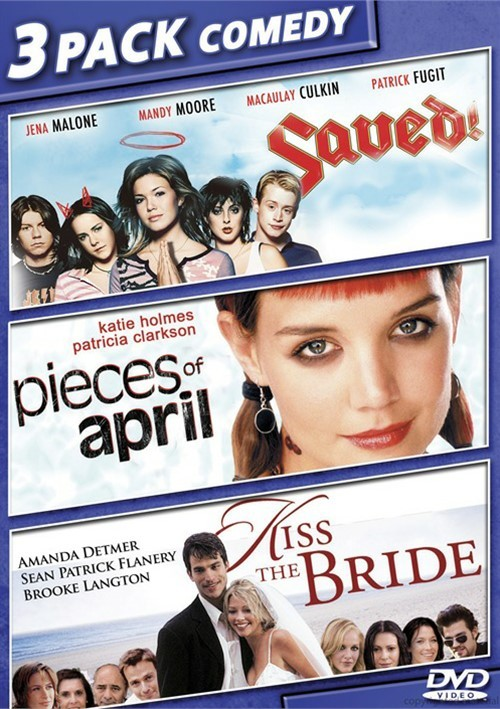 Saved! / Pieces Of April / Kiss The Bride (Triple Feature)