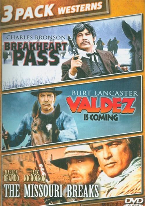 Breakheart Pass / Valdez Is Coming / The Missouri Breaks (Triple Feature)