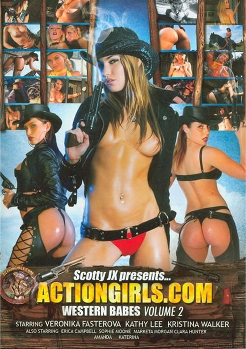 Actiongirls Western Babes - Volume 2 Dvd 2011  Dvd Empire-1371