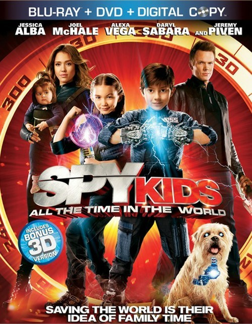 Spy Kids: All The Time In The World (Blu-ray + DVD + Digital Copy)