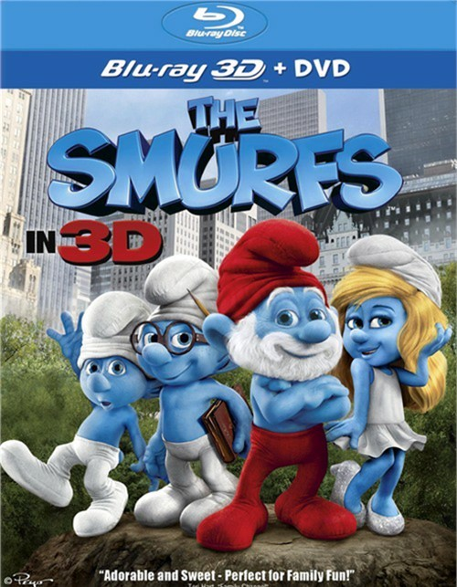 Smurfs, The (Blu-ray 3D + DVD Combo)