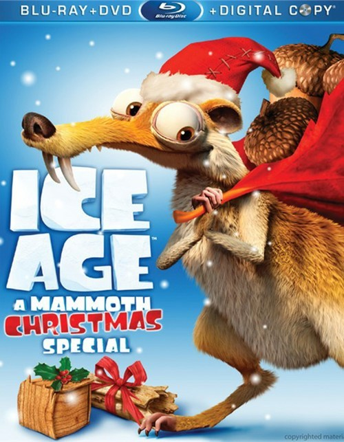 Ice Age: A Mammoth Christmas Special (Blu-ray + DVD + Digital Copy)