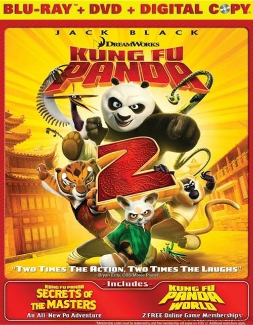 Kung Fu Panda 2 (Blu-ray + DVD + Digital Copy)