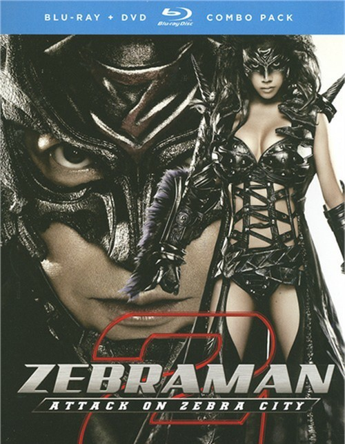 Zebraman 2: Attack On Zebra City (Blu-ray + DVD Combo)