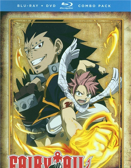 Fairy Tail: Part Two (Blu-ray + DVD Combo)