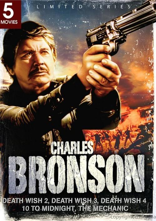 Charles Bronson: Death Wish 2 / Death Wish 3 / Death Wish 4 / 10 To Midnight / The Mechanic