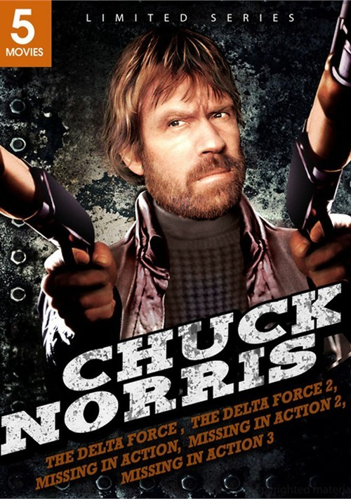 Chuck Norris: The Delta F-rce / Delta F-rce 2 / Missing In Action / Missing In Action 2 / Braddock: Missing In Action
