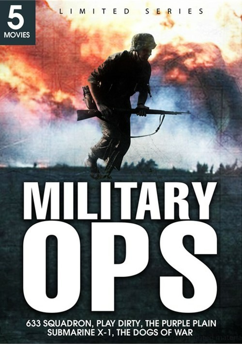 Military Ops: 633 Squadron / Play Dirty / The Purple Plain / Submarine X-1 / The Dogs Of War