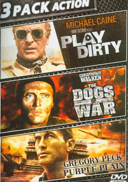Play Dirty / The Dogs Of War / The Purple Plain (Triple Feature)