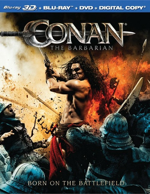 Conan The Barbarian (Blu-ray 3D + Blu-ray + DVD + Digital Copy)