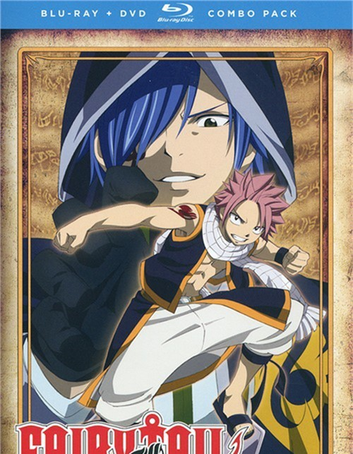 Fairy Tail: Part Three (Blu-ray + DVD Combo)