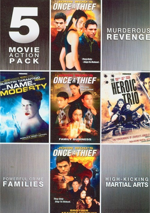 5 Features Action Movie Pack