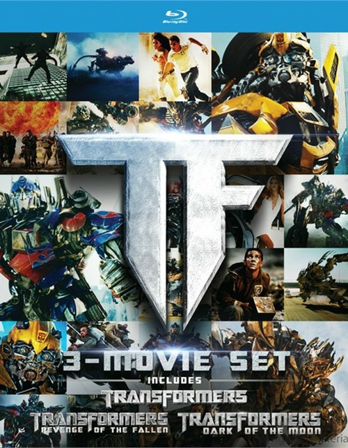 Transformers: 3 Movie Set