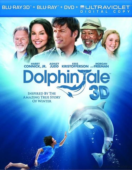 Dolphin Tale 3D (Blu-ray 3D + Blu-ray + DVD + Digital Copy)
