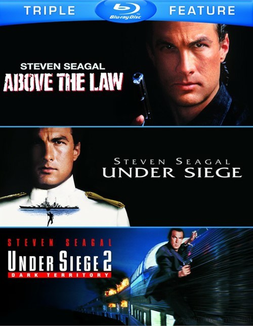 Above The Law / Under Siege / Under Siege 2: Dark Territory (Triple Feature)