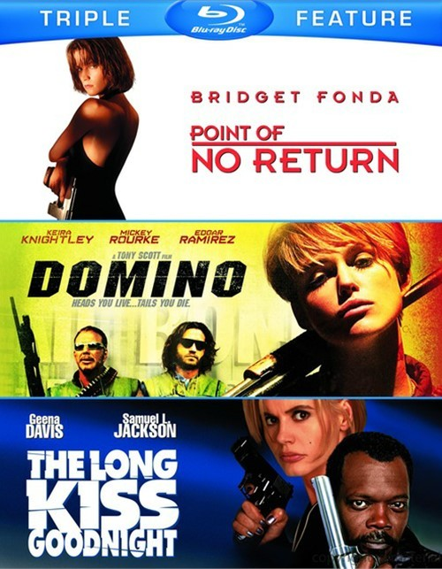 Point Of No Return / Domino / The Long Kiss Goodnight (Triple Feature)