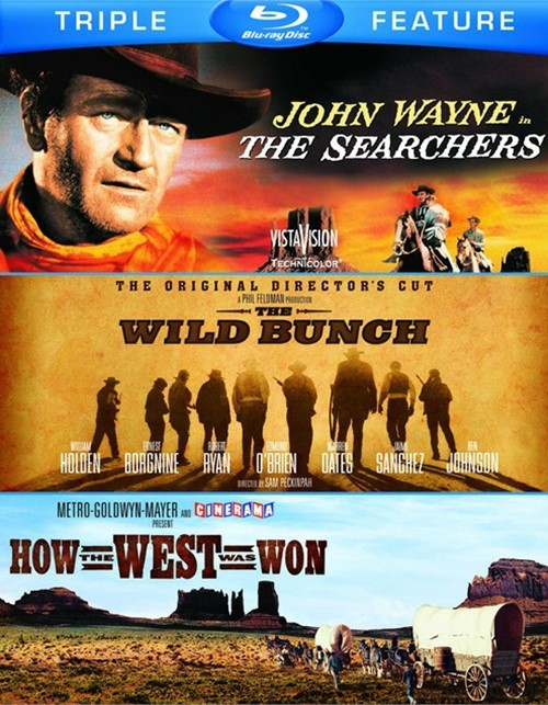 Searchers, The / The Wild Bunch: The Original Directors Cut / How The West Was Won (Triple Feature)