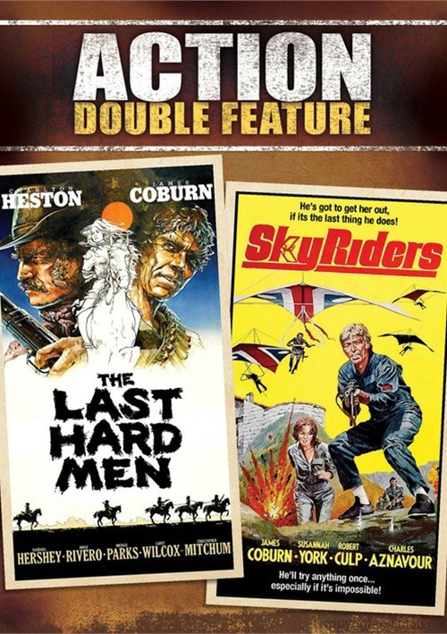 Last Hard Men, The / Sky Riders (Double Feature)